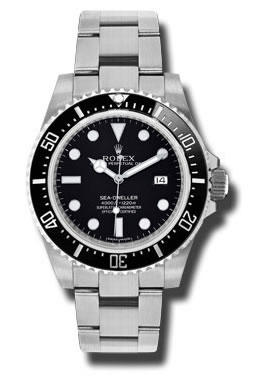 Rolex 116600 Oyster Perpetual Sea Dweller 40mm Stain Stell Watch