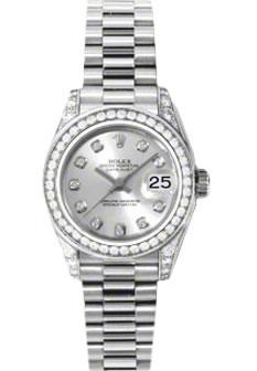Ladies Rolex Watches Women\u0027s Rolex Datejust President 18K