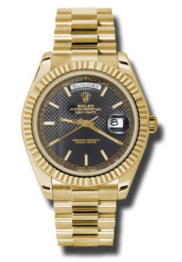 Rolex Oyster Perpetual Day-Date 14k Yellow Gold 40mm Watch