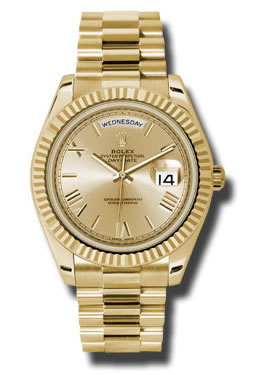 18K Yellow Gold Rolex Oyster Perpetual Day-Date 40mm Watch