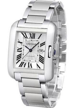 Women's Cartier Tank Anglaise Automatic Watch W5310009
