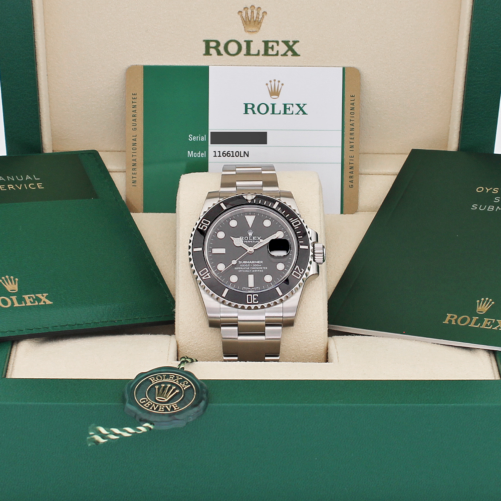 Rolex Submariner Date 116610LN Review