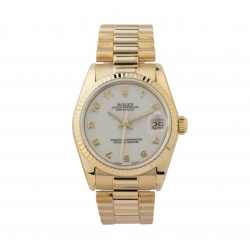 ROLEX DATEJUST 31 68278 18KT YELLOW GOLD